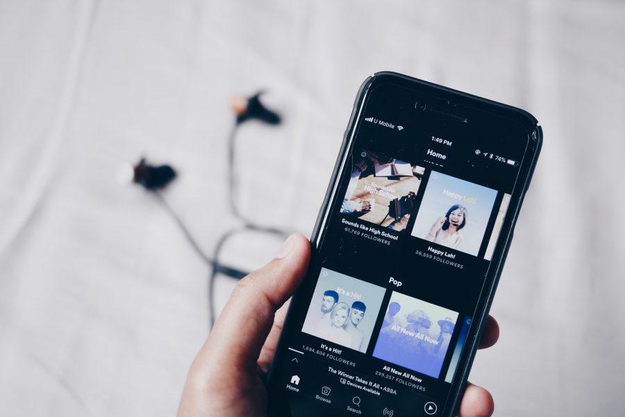 Minipause mit Musik im Büro- Bruce Mars