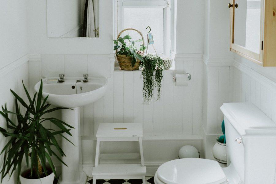 Toilette für Pinkelpause
